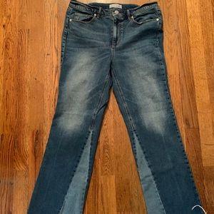 LOFT vintage straight jeans